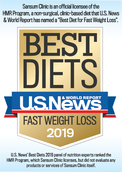 HMR Badge Best Fast Weight Loss Diet 2018